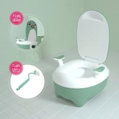 Bô vệ sinh cho bé cao cấp, Đa năng ,ngăn chứa tháo lắp vệ sinh dễ dàng