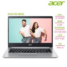 Laptop Acer Aspire 5 A515-55-55HG i5-1035G1 | 8GB | 512GB | Intel UHD Graphics | 15.6″ FHD | Win 10 – Chính hãng