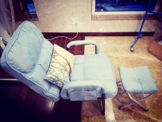 Ghế sofa lười kèm đôn Hahoo – Ghế lười salon tặng kèm ghế đôn