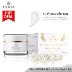 Kem dưỡng trắng da mặt Truesky cấp tốc dạng lotion chiết xuất ngọc trai chính hãng 15g – Whitening Face Cream