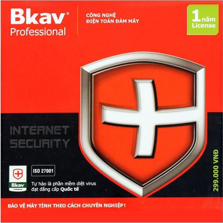 Phần mềm diệt virus Bkav PRO internet 2020