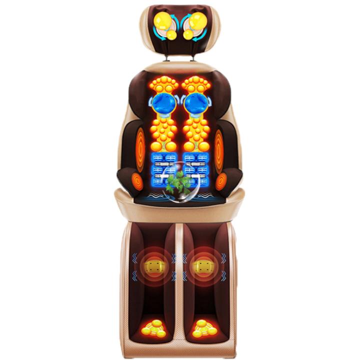 Ghế massage toàn thân hồng ngoại, 16 chức năng mát xa 3D, tự động sưởi mẫu 2021
