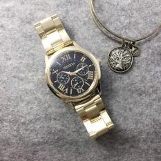 Đồng hồ nam GENEVA dây thép Sang trong – Máy Nhật