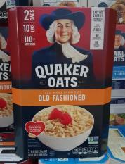 Yến mạch nguyên hạt Mỹ Quaker Oats Old Fashioned 4.52 kg