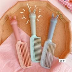 Lược chải tóc bằng nhựa hình đầu thỏ đáng yêu
