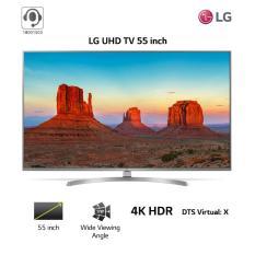 Smart TV LG 55inch 4K Ultra HD – Model 55UK7500PTA (Bạc) – Hãng phân phối chính thức
