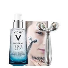 Dưỡng chất khoáng cô đặc giúp phục hồi và bảo vệ da Vichy Mineral 89 50ml Tặng Dụng cụ massage mặt cao cấp
