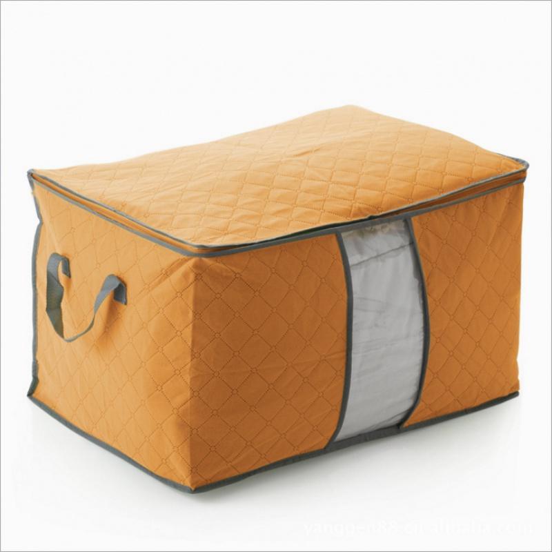 Túi đựng chăn màn quần áo cỡ lớn bằng vải không dệt làm gọn tủ đồ dễ đi chuyển VHN008958