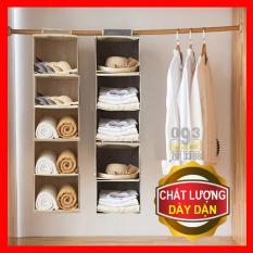 Tủ Vải Đựng Đồ 5 Ngăn, Túi Vải Đa Năng
