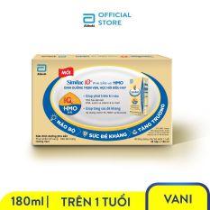 [GIẢM 40K CHO ĐƠN 499K]Thùng 48 hộp sữa nước Similac Eye-Q 4 180ml trẻ từ 1 tuổi đề kháng vượt trội phát triển trí não