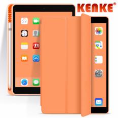 Ốp Bảo Vệ KENKE iPad 10.2 Có Giá Đỡ Bút Tích Hợp, Vỏ Bảo Vệ IPad2019gen7, Vỏ Silicon Chống Rơi IPad7th, Giá Đỡ Đa Chức Năng, Tản Nhiệt Tổ Ong, Tản Nhiệt Siêu Mỏng, chức Năng Đánh Thức Giấc Ngủ Thông Minh, Vỏ iPad