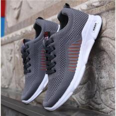 Giày Nam Thể Thao Sneaker Màu Xám Hàn Quốc Cao Cấp SBC – S99