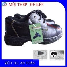 Giày bảo hộ lao động ABC mũi thép ,đế thép, chống đinh, chống dầu, chống tai nạn