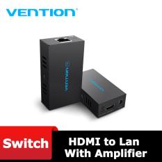 Amplifiers – Bộ khuếch đại HDMI to Lan 60m (Cat6, Cat7) Vention AFIB0