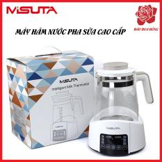 Máy hâm nước pha sữa. Bình đun nước siêu tốc thông minh. Ấm hâm sữa hiện đại cảm ứng tiện dụng.