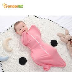 Nhộng chũn cho bé, túi ngủ cho bé, quấn chũn từ sợi tre Bamboo Life BL069 giúp bé ngủ ngon giấc, kháng khuẩn, an toàn cho trẻ sơ sinh