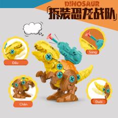 Đồ chơi lắp ghép trứng khủng long KAVY kèm vít giúp bé sáng tạo khám phá thế giới