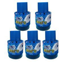 Bộ 5 chai thả bồn cầu tự động làm sạch diệt khuẩn và làm thơm Mr.Fresh GSG378