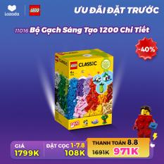 [ƯU ĐÃI ĐẶT TRƯỚC 1-7.8] LEGO CLASSIC 11016 Bộ Gạch Sáng Tạo 1200 Chi Tiết ( 1201 Chi tiết) Đồ chơi lắp ráp sáng tạo – Chỉ đặt trên App