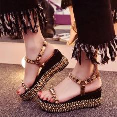 Dép đế xuồng nữ, sandal đế xuồng