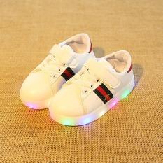 Giày thể thao có đèn LED cho bé trai và bé gái-giày tập đi cho bé có đèn led phát sáng