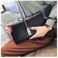 Clutch cầm tay nữ khóa kéo cách điệu PLCL02
