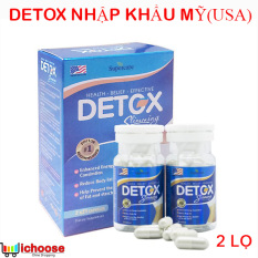 Detox Slimming Capsules USA Nhập Khẩu Mỹ – Viên uống hỗ trợ giảm cân, loại bỏ mỡ thừa hiệu quả