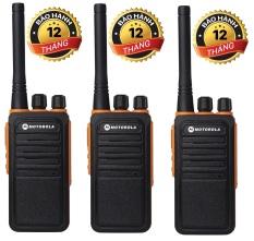 Bộ 3 Bộ đàm Motorola GP900S(Loa chống bụi, Dung lượng pin cực lớn >12 tiếng, cự ly liên lạc xa, siêu bền)