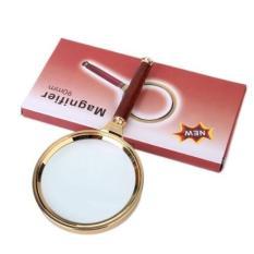 Kính Lúp Magnifier 80mm xi vàng