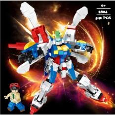 Lego lắp ráp Robot Vũ trụ – 6 Chiến binh cảnh sát vũ trụ 2800 – Lego Galaxy Robot