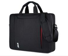 Cặp xách laptop công sở đeo vai kép đỏ kẹp vào vali DF2 Shalla