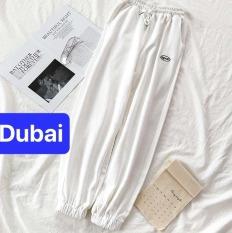 QUẦN JOGGER THỂ THAO NAM NỮ SPUN 3 MÀU UNISEX HÀN QUỐC THOÁNG MÁT CAO CẤP – DUBAI FASHION