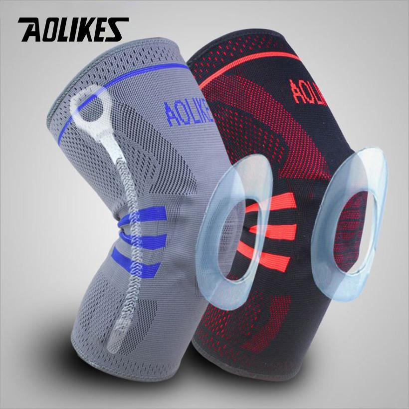 Đai cuốn bảo vệ đầu gối-Bó gối thể thao- băng bảo vệ đâu gối Aolikes AL611(1 chiếc)