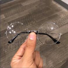 kính giả cận Nam Nữ Nobita tròn mẫu mới siêu xinh 2019 (trắng)