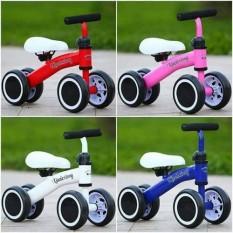 Xe chòi chân 4 bánh khung kim loại cho bé, xe tập đi, xe thăng bằng, đồ chơi trẻ em