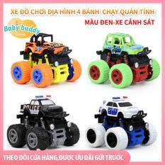 Đồ chơi xe địa hình cho trẻ phát triển trí tuệ, đồ chơi mô hình xe đẩy cho bé tăng khả năng quan sát, xe đẩy đà xoay 360 không trung, đồ chơi xe đẩy địa hình vượt mọi chướng ngại vật