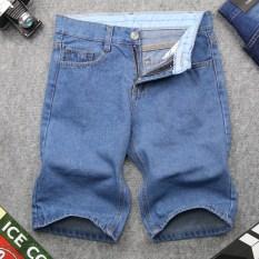 Quần short jean nam xanh nhạt vải dày đẹp SG391 SaoSaiGon