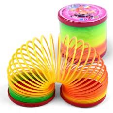 Đồ chơi lò xo cầu vòng – đường kính 7 cm
