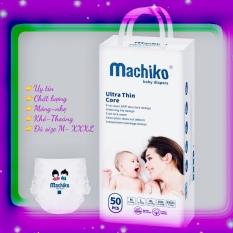 [XÃ HÀNG] HỘP 50 BỈM TÃ QUẦN Machiko M/L/XL/XXL/XXXL NHẬT BẢN