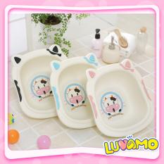 Chậu Rửa Mặt Cho Bé Hình Bò Sữa Đáng Yêu Ngộ Nghĩnh Cao Cấp Bền Đẹp Cs08