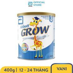 Sữa bột Abbott Grow 3 G-Power Hương Vani 400g – Giới hạn 5 sản phẩm/khách hàng