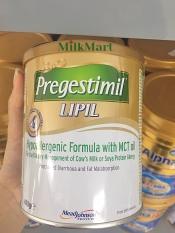 Sữa Pregestimil Lipil 400g – Mead Johnson dành cho trẻ dị ứng đạm sữa bò, kém hấp thu đạm, biếng ăn, nhẹ cân (trẻ từ 0-12 tháng), date mới 2022