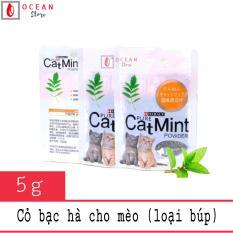 Cỏ bạc hà cho mèo hạt búp khô dạng túi – Catnit 02