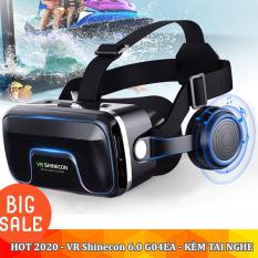Kính thực tế ảo 3D VR Shinecon G04E – Phiên bản Hot 2020 ,kính thực tế ảo xem phim, kính thực tế ảo chơi game