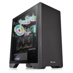 Vỏ Case Thermaltake S300 Tempered Glass Mid-Tower Chassis (CA-1P5-00M1WN-00)