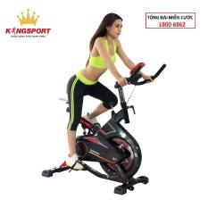 XE ĐẠP TẬP KINGSPORT BK-5802 điều chỉnh tốc độ và độ cao của máy, xe đạp tập thể thao gập gọn tại nhà