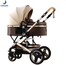 Xe đẩy gấp gọn cho bé đa năng Chilux V1.6 – 9 tính năng tiện dụng cho mẹ và bé