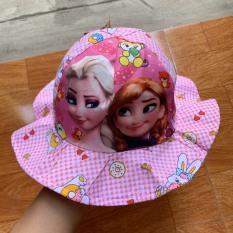 Mũ tai bèo nón bucket công chúa ellsaa cho bé 3 đến 6 tuổi siêu xinh – Sudoo