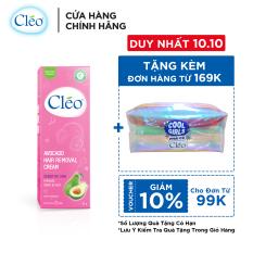 Kem tẩy lông chiết xuất bơ Cleo dành cho da nhạy cảm 25g, an toàn, không đau và đạt hiệu quả nhanh chóng
