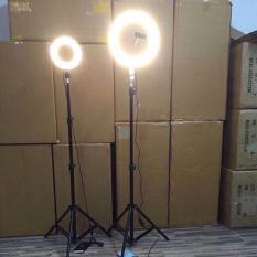 Bộ Đèn Led Ø 16CM + chân đèn kéo dài 2m1✓ 3 chế độ sáng ✓Trợ Sáng✓Chụp Ảnh✓Make Up✓Xăm hình
